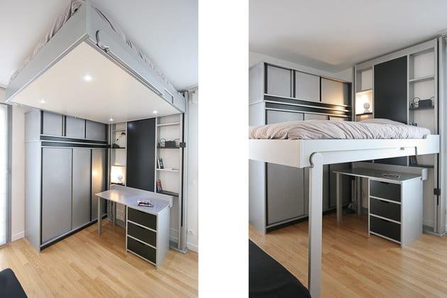 Une chambre modulable
