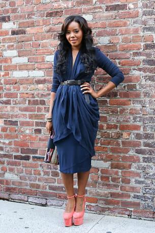 Street Look Fashion Week Diva Drap E