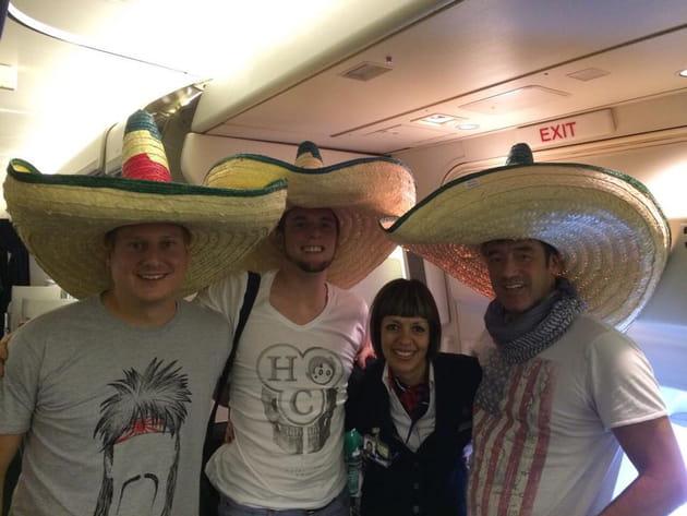 Norbert Tarayare, ses adieux à Mexico