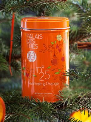 thé n°25 cannelle et orange du palais des thés