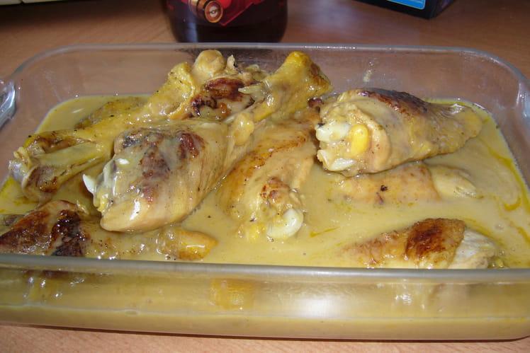Poulet sauce poulette