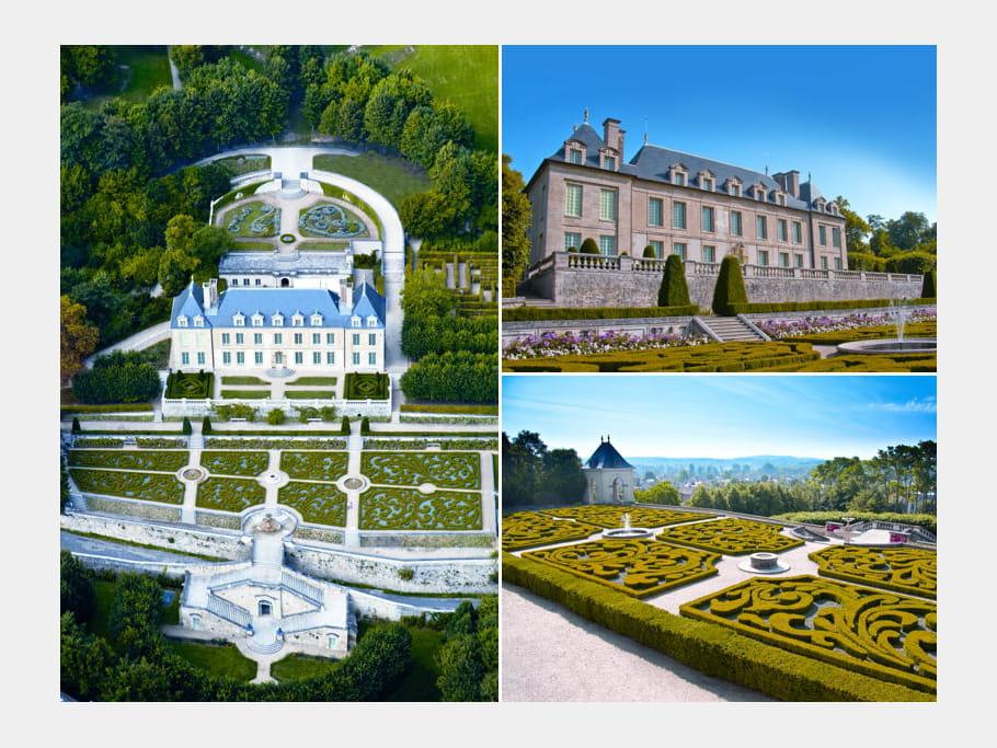 Le Château d'Auvers-sur-oise  (95)