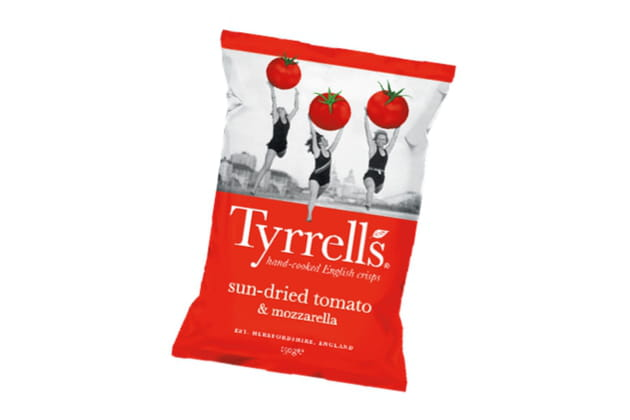 Les Sun-dried Tomato & Mozzarella de Tyrrells