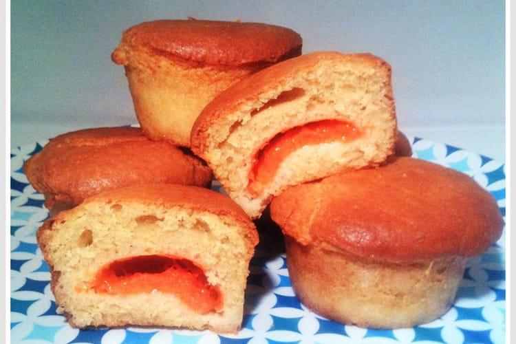 Muffins moelleux aux abricots
