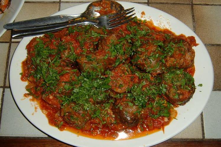 Rougail Saucisses et son rougail de tomates