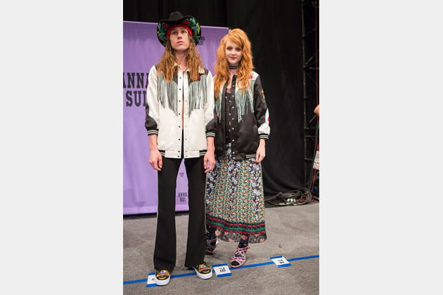 Anna Sui (Backstage) - photo 11