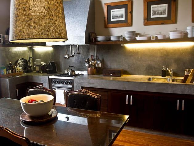Une cuisine raffinée