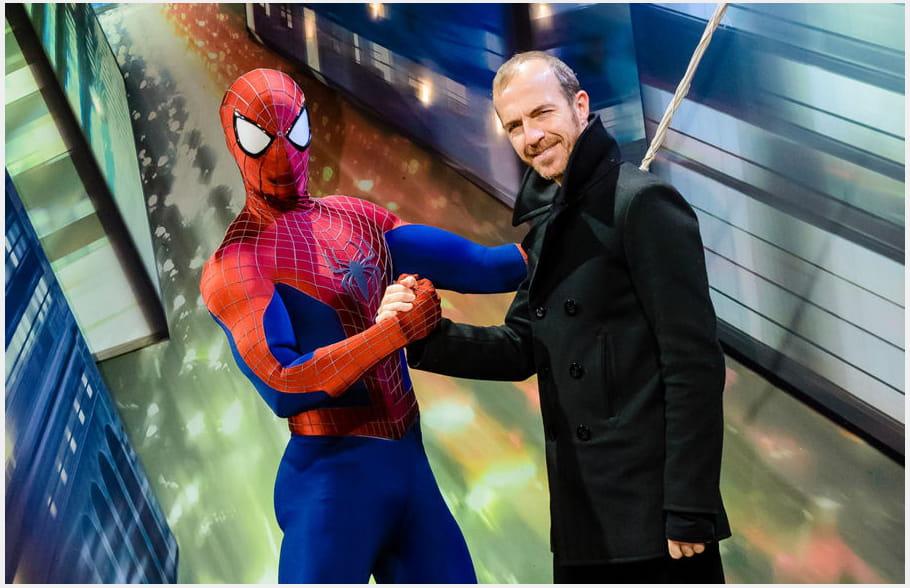 Calogero et Spider Man