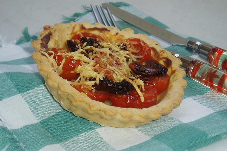 Tartelette aux deux tomates