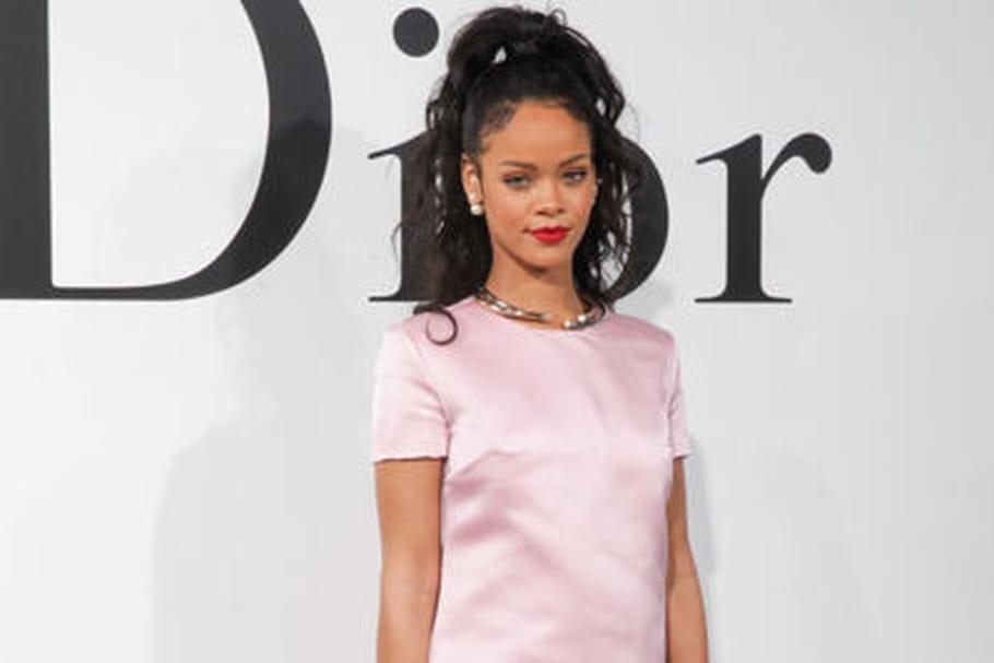 Rihanna, première égérie noire de Christian Dior