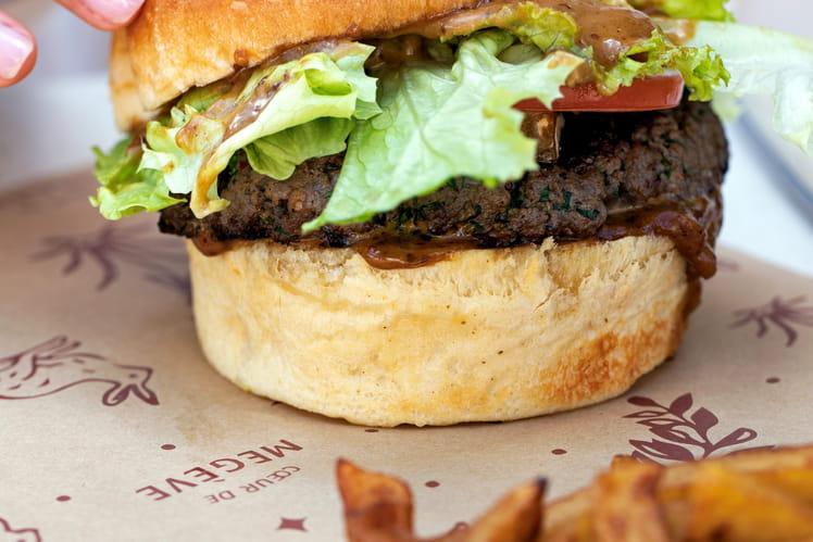 Le cheeseburger mégevan du chef vincenzo regine