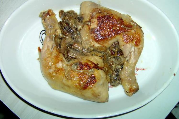 Cuisse de poulet façon campagnarde