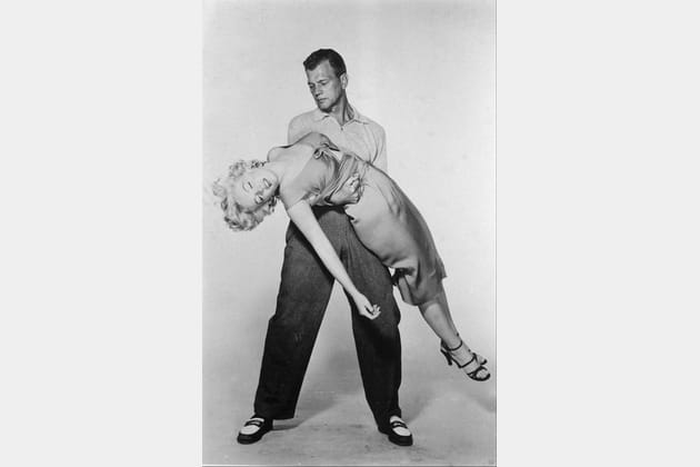 "Dans le film ""Niagara"", 1953"