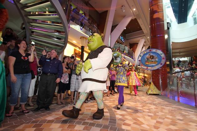 Shrek enchante les tout petits dans l'expérience Dreamworks