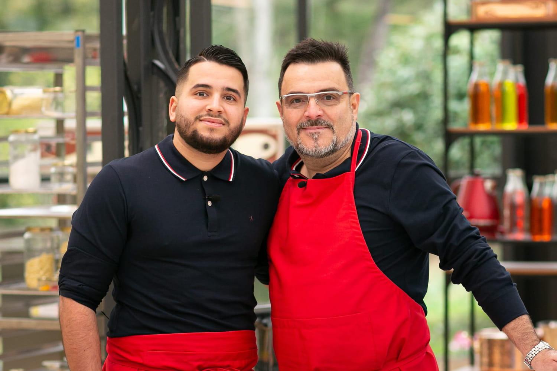 Antonio et Christian: le duo père et fils éliminé du Meilleur Pâtissier Les Professionnels