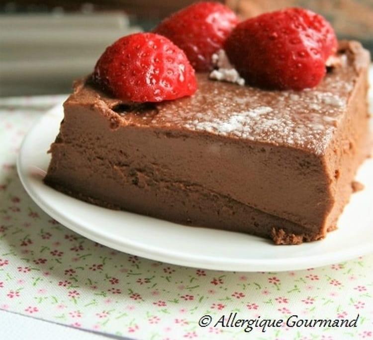 Gâteau sans oeuf et sans gluten patates douces au chocolat