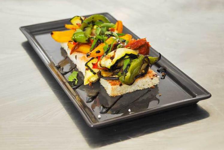 Bruschetta de légumes grillés