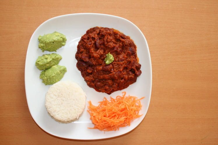 Chili con carne tout simple