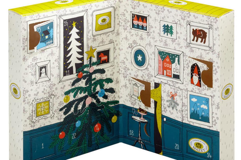 calendriers de l 39 avent 2016 gourmandises shopper. Black Bedroom Furniture Sets. Home Design Ideas