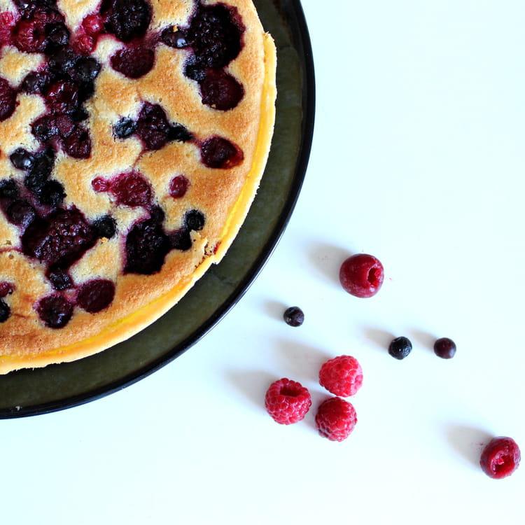 recette de tarte amandine aux fruits rouges la recette facile. Black Bedroom Furniture Sets. Home Design Ideas