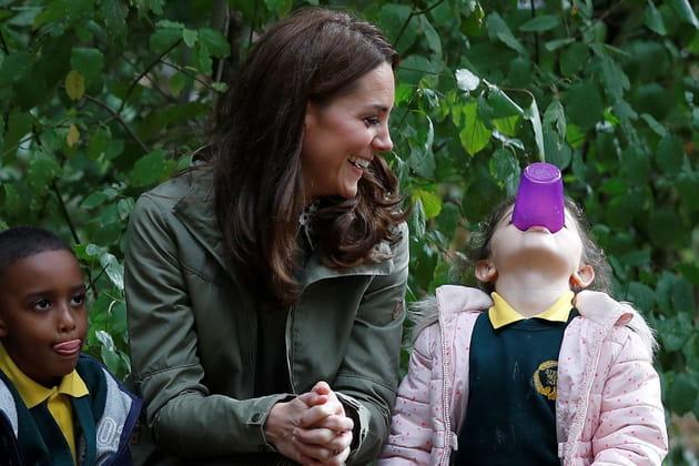 Kate Middleton, impressionnée par cette démonstration d'agilité