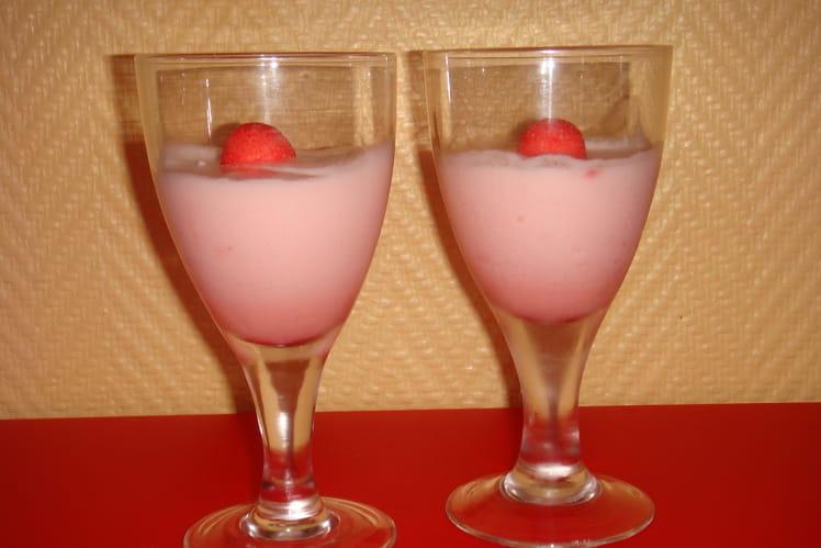 Mousse de fraises Tagada