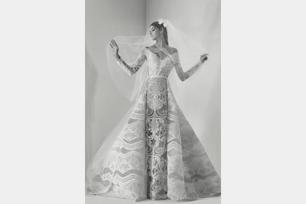 Une robe de mariée somptueuse
