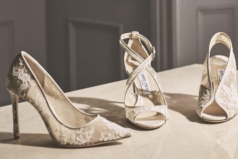 Chaussures mariage: talons, à plat, ou en baskets?