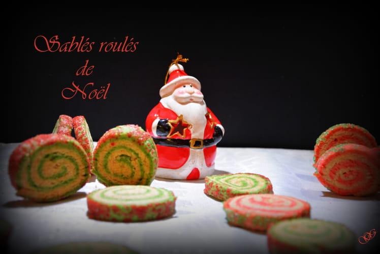 Sablés roulés de Noël