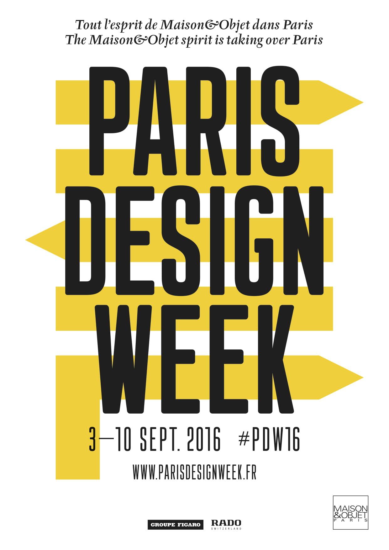 paris design week 2016 date programme now le off. Black Bedroom Furniture Sets. Home Design Ideas
