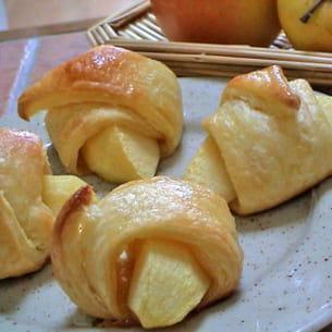 pommes feuilletées
