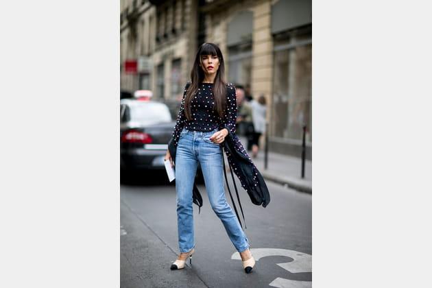 Street style à Paris : les maxi manches
