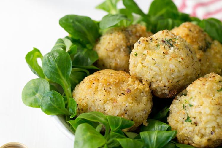 Arancini végétariens à l'emmental français
