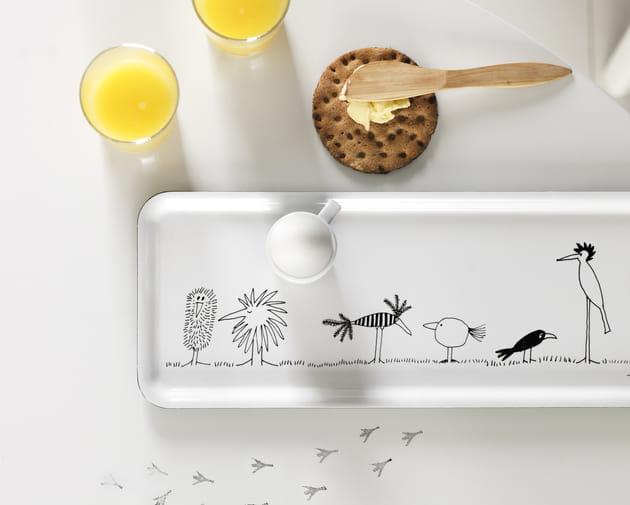 Plateau oiseaux onskedrom ikea - Plateau petit dejeuner ikea ...