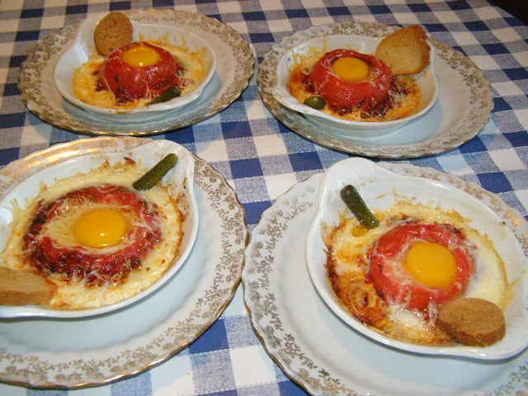 Recette de tomates aux oeufs la recette facile for Petit plat facile a cuisiner