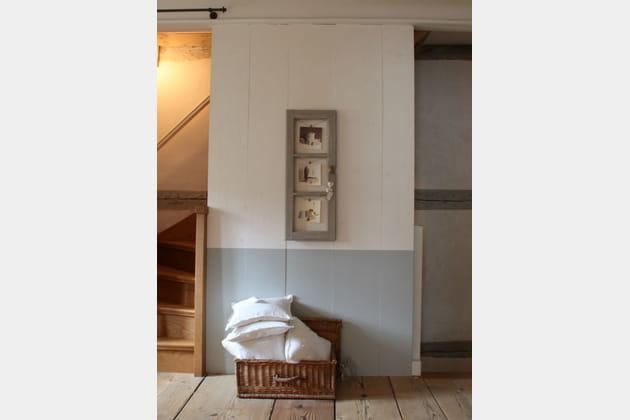 une coffre en osier. Black Bedroom Furniture Sets. Home Design Ideas