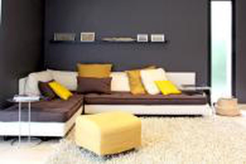 Salon Noir Blanc Jaune salon jaune et noir