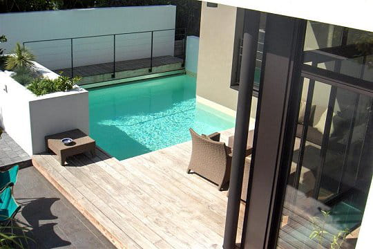 Une piscine sur mesure