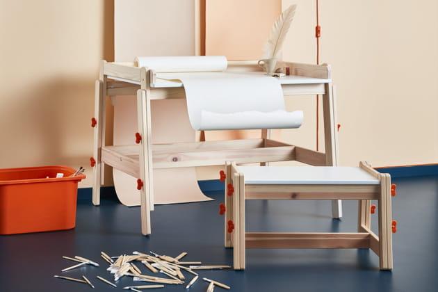 Bureau à hauteur réglable Flisat Ikea