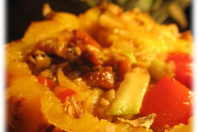 Ananas farcis