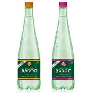 les bouteilles aromatisées badoit