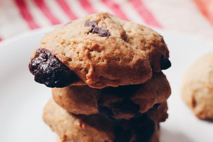 Cookies sans lactose, sans oeufs au chocolat