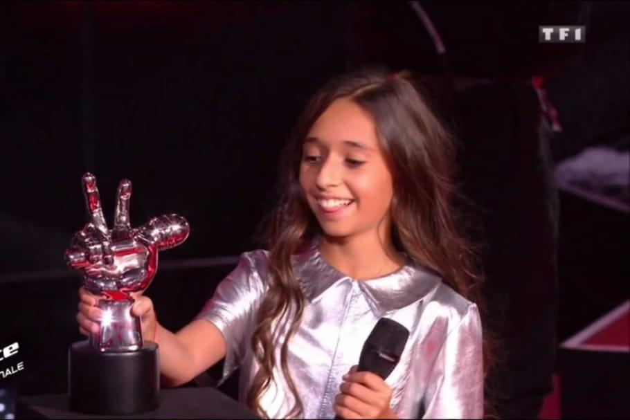 Rebecca, 10ans, remporte haut la main The Voice Kids... et comment!
