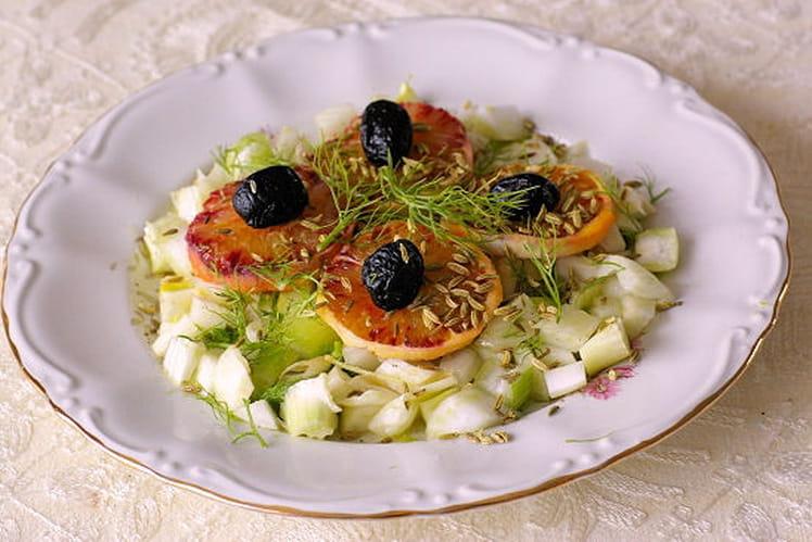 Salade de fenouil à la saveur d'orange