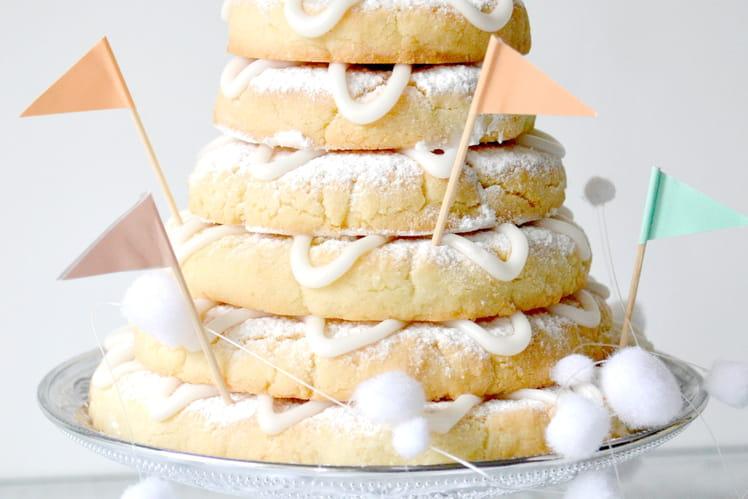 Biscuits scandinaves de Noël aux amandes, Kransekake