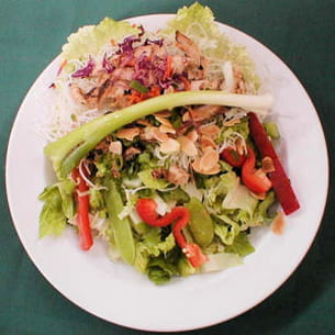 salade chinoise au poulet