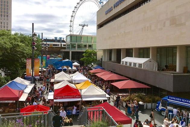 Southbank Centre Food Market : un bouillon de saveurs