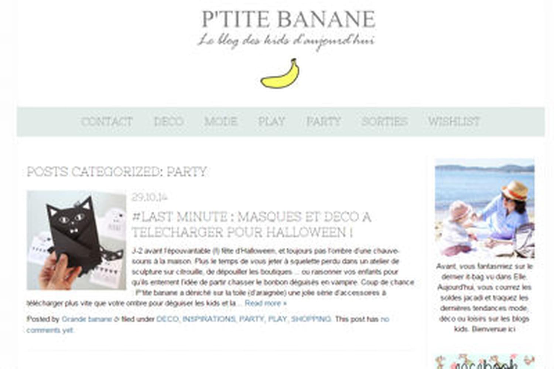 Le blog du moment: P'tite Banane