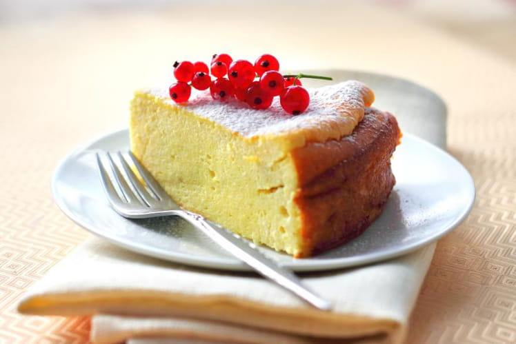 Gâteau au fromage blanc ultra léger