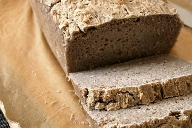 Pain au sarrasin, Bio, sans gluten